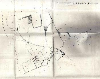 Shefford Hardwick Farm in 1810 [WW205]